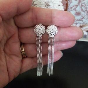 Jewelry - 3D Rose Dangle